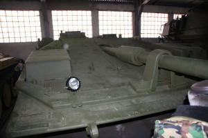 единственный в мире безбашенный танк