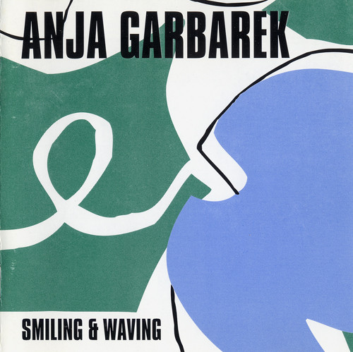 anja-garbarek-smiling-and-waving