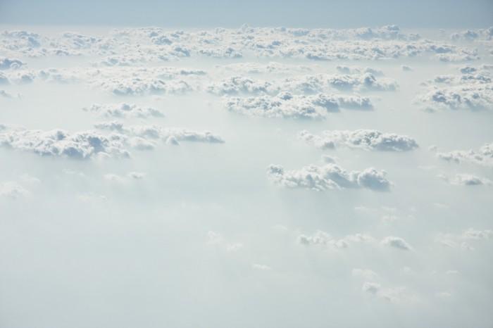 облака вид сверху