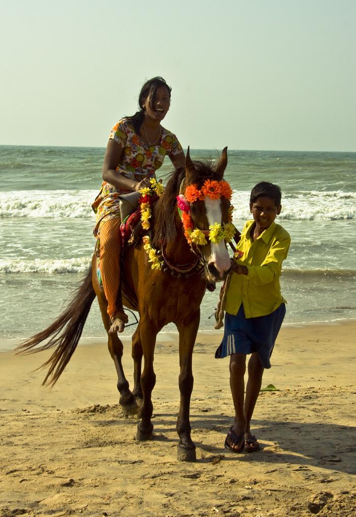 Пури Индия утро на берегу океана